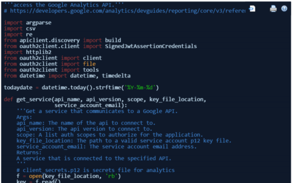 How to filter referral spam from Google Analytics using API and Python
